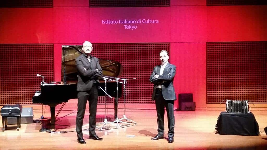 Pasquale Stafano & Gianni Iorio - Auditorium Agnelli IIC Tokyo