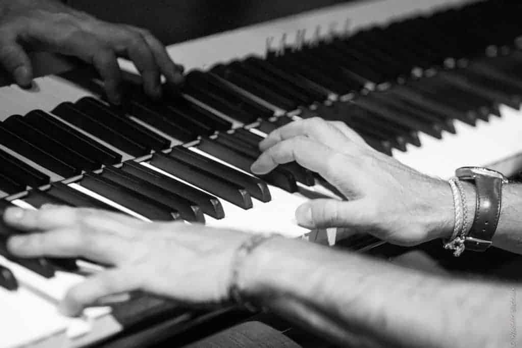 Pasquale Stafano concert in Belgium - Photo by Hubert Batteaux