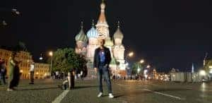 Pasquale Stafano in Moscow