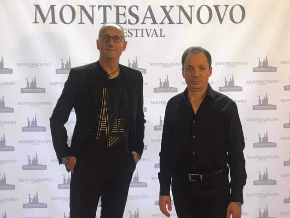 Montesaxnovo Festival 2020 Pasquale Stafano and Gianni Iorio