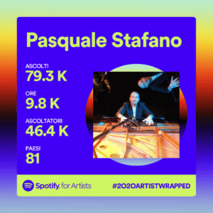 Pasquale Stafano pianist on Spotify 2020